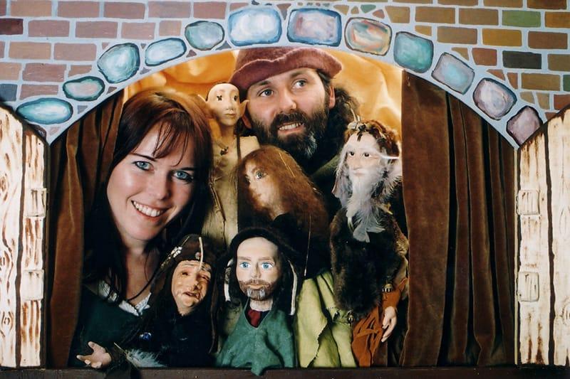 Donderelf poppentheater betoverde elfenprinses