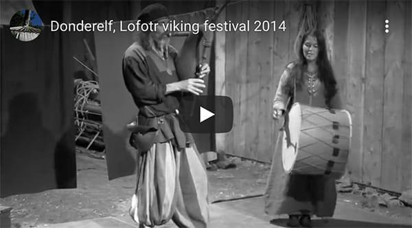 Donderelf muziek verteltheater poppentheater vikingverhalen verhalenverteller
